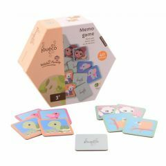 Memoryspel Junglefamilie 2+