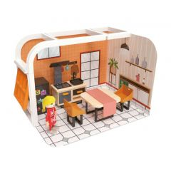 Poppenhuisset keuken