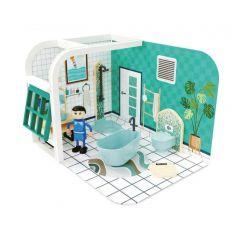 Poppenhuisset badkamer