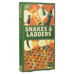 Slangen & ladders in hout 6+