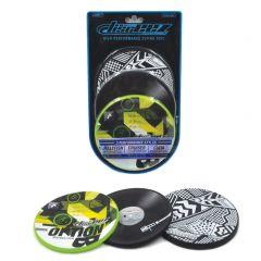 Disceez 3-pack #4/8 stuntfrisbees 13 cm