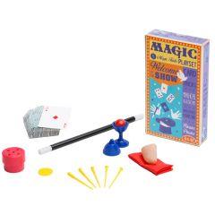 Retrotoverdoos Magic Tricks met 5 trucs