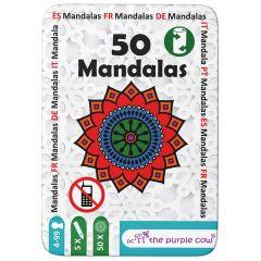 Reisspel 50 Mandalas om in te kleuren
