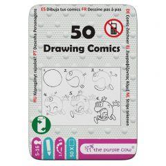 Reisspel 50 Stripfiguurtjes om te tekenen