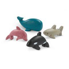 PlanWood Zeedieren set van 4