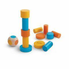 PlanMini Stapelspel met kleurendobbelsteen