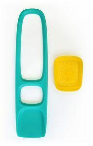 Quut Scoppi strandschop groen/geel
