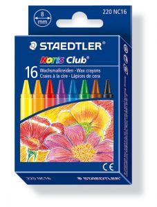 Staedtler Noris waskrijtjes assortiment kleuren 16 stuks