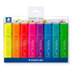 Staedtler markeerstift fluo 8 kleuren