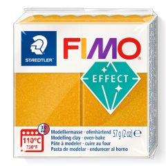 Fimo Effect 56 g metallic goud