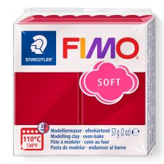 Fimo Soft 56 g kersenrood