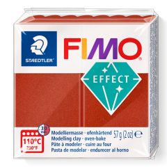 Fimo effect 56 g metallic koper