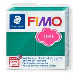 Fimo Soft 56 g smaragdgroen