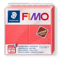Fimo Leather 57 g watermeloen