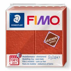 Fimo Leather 57 g roest