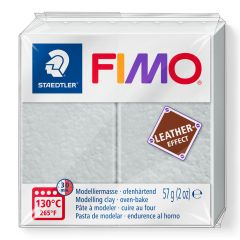 Fimo Leather 57 g duifgrijs
