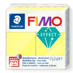Fimo Effect 56 g transparant geel