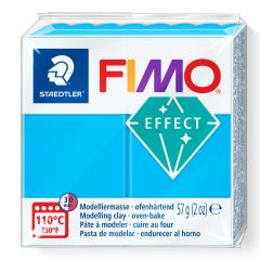 Fimo Effect 56 g transparant blauw