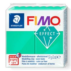 Fimo Effect 56 g transparant groen