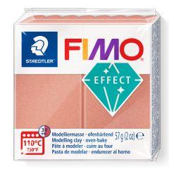 Fimo effect 57 g parelmoer roze