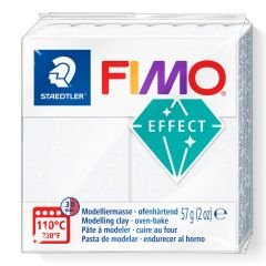 Fimo Effect 56 g glitter wit