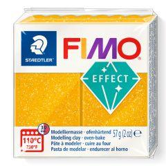 Fimo Effect 56 g glitter goud