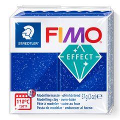 Fimo Effect 56 g glitter blauw