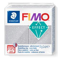 Fimo Effect 56 g glitter zilver