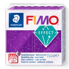 Fimo Effect 56 g glitter paars
