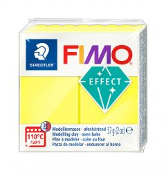 Fimo Effect 57 g neon geel