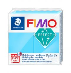 Fimo Effect 57 g neon blauw