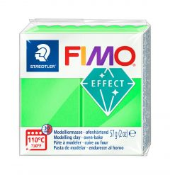 Fimo Effect 57 g neon groen