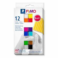 Fimo Soft set 12 kleuren van 25 g