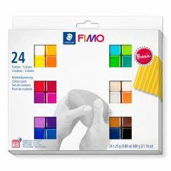 Fimo Soft set 24 kleuren van 25 g