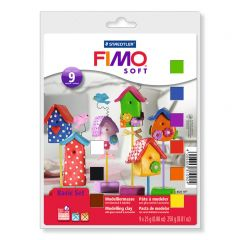 Fimo Soft set basis 9 kleuren