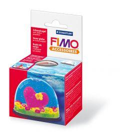 Fimo Accessoires sneeuwbol ovaal 70x52 mm