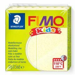 Fimo Kids boetseerklei 42 g lichtgeel