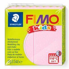 Fimo Kids boetseerklei 42 g lichtroze parelmoer