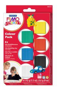 Fimo Kids set basis 6 x 42 g