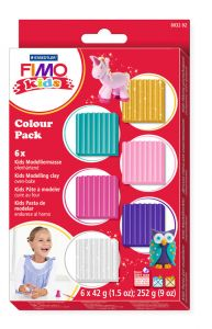 Fimo Kids set girlie 6 x 42 g