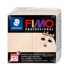 Fimo Professional Doll Art 85 g doorzichtig beige