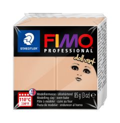 Fimo Professional Doll Art 85 g opaak sand