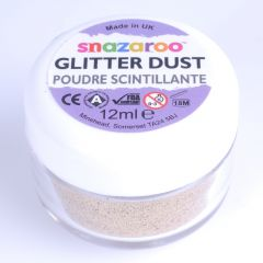 Glitter dust 12 ml roodgoud