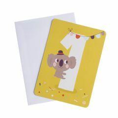Postkaart met omslag Eén Koala