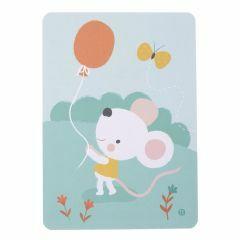 Postkaart Balloon Mouse