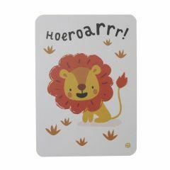 Postkaart - Jungle - Hoeroarr