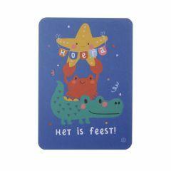 Postkaart - Zee - Het is feest