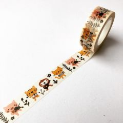 Washi tape 1,5 cm x 10 m Folk Roadshow