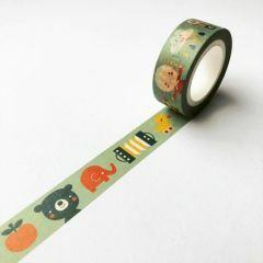 Washi tape 1,5 cm x 10 m Hello Baby