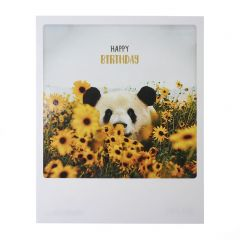 Postkaart - Happy Birthday Panda